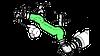 Патрубок RENAULT Premium 385/400 (от уезд.фильтра до турбины) [Б/У] - 5010467640