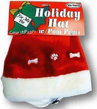Новогодняя шапка для собак Vo-Toys