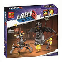 "Конструктор Bela 11239 (Аналог Lego Movie70836) ""Боевой Бэтмен и Железная борода"" 180 деталей"