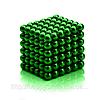 Неокуб, NeoCube 5 мм, зеленый / магнитный конструктор