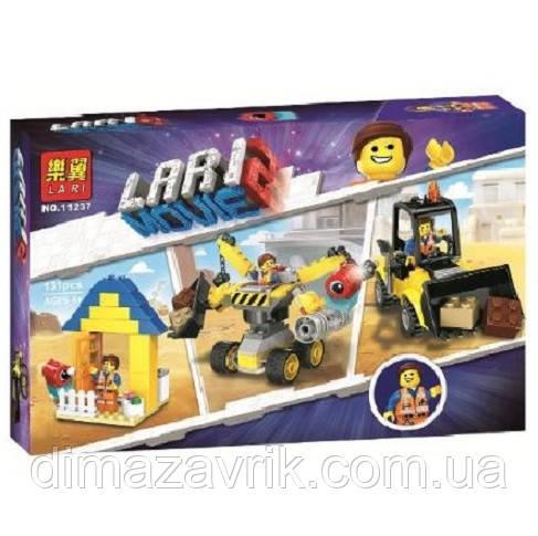 """Конструктор Bela 11237 (Аналог Lego Movie70832) """"Набор строителя Эммета"""" 131 деталь"""