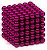 Неокуб, NeoCube 5 мм, фиолетовый / магнитные шарики, магнитная головоломка