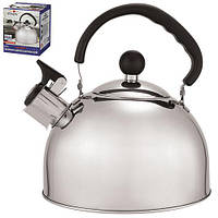 Чайник Stenson МH-0297 объем 2.5л, одинарное дно, чайники, чайник со свистком, кухонная посуда, чайник, чайники из нержавеющей стали