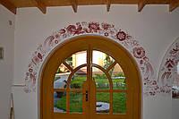 Роспись стен, интерьера помещений, оформление  детских комнат, петриковская роспись