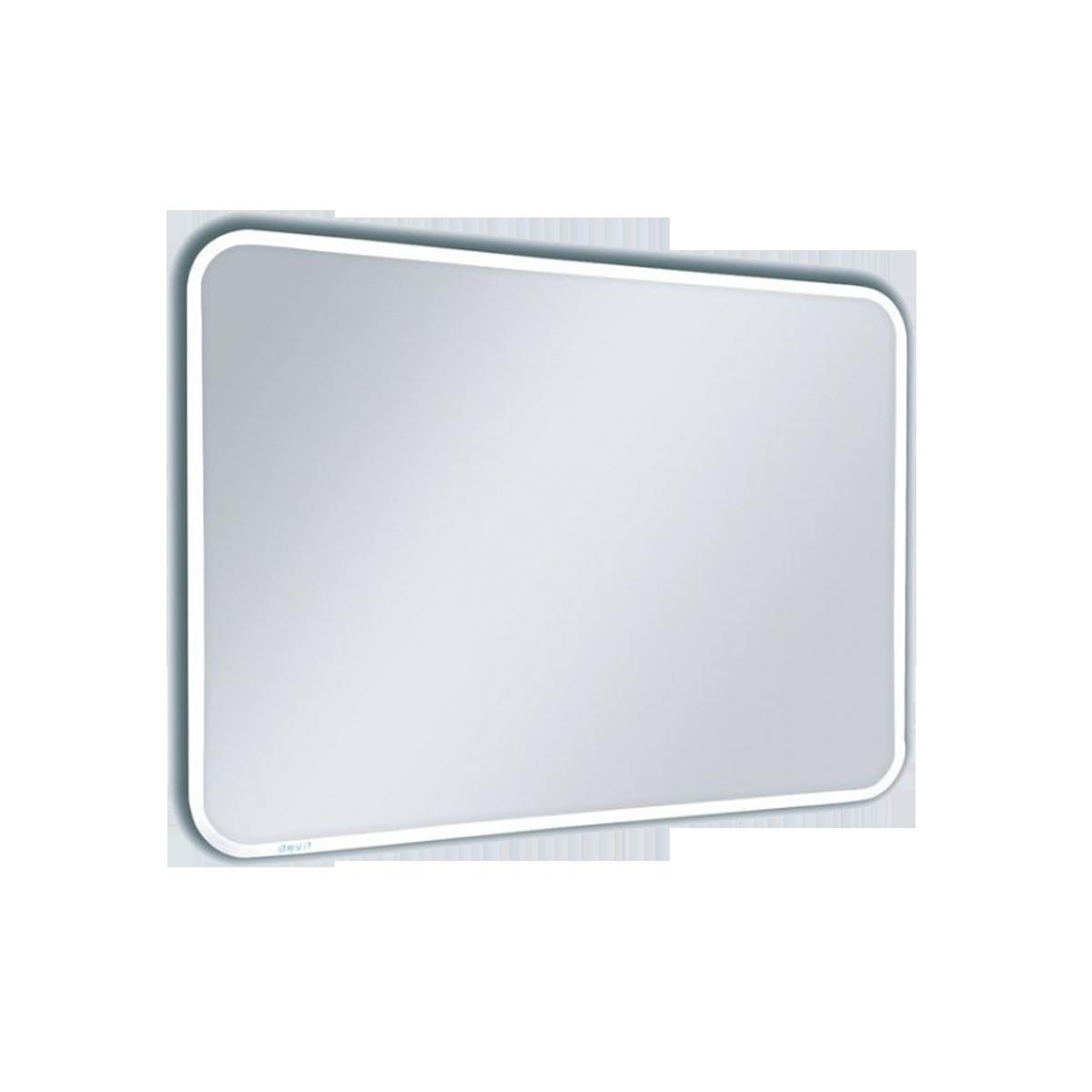 DEVIT Soul 5022149 Зеркало 800х600, закругл., LED, сенсор движения, подогрев
