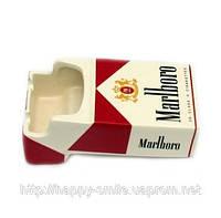 Подарок для мужчины — Пепельница Пачка Мальборо, пепельница Marlboro, фото 1