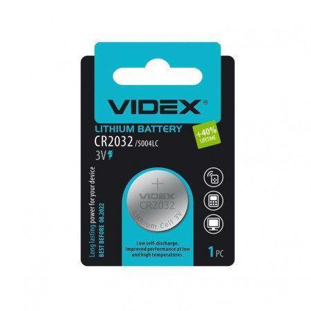 Набор батареек Videx для глюкометров Акку Чек Перформа, Нано, Актив,Он Колл Плюс, 2 шт.