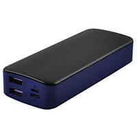 Power Bank JS-12 UNIVERSAL HIGH SPEED 8000mAh 2USB(1A+2A)+1Micro USB+ 1Type-C цифровой дисплей (3000mAh)