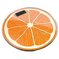 Весы напольные 03A фрукты, 180кг (50г), температура