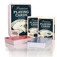 Игральные карты для покера 100% пластиковое покрытие, фото 1