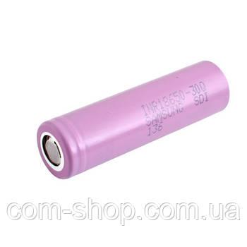 Аккумулятор 18650, Samsung 30Q, 3000mAh, 3.7V, высокотоковый, оригинал
