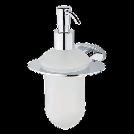 Дозатор жидкого мыла Devit Prestige 8050124SD с держателем, фото 2