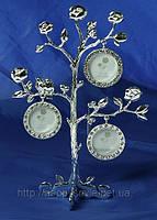 Фоторамка-дерево на 3 фото 16*8*23см 264022