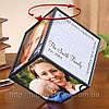 Прикольный подарок — Вращающийся куб с фотографиями (Rotating Photo Cube)