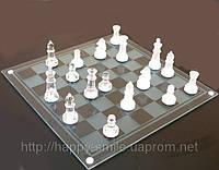 Игра в подарок — Шахматы стеклянные 20 х 20 см, фото 1