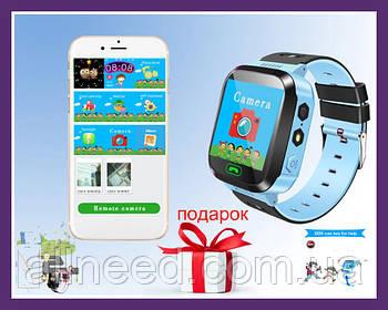 Смарт часы детские Smart Watch A15 Blue Умные часы детские синие