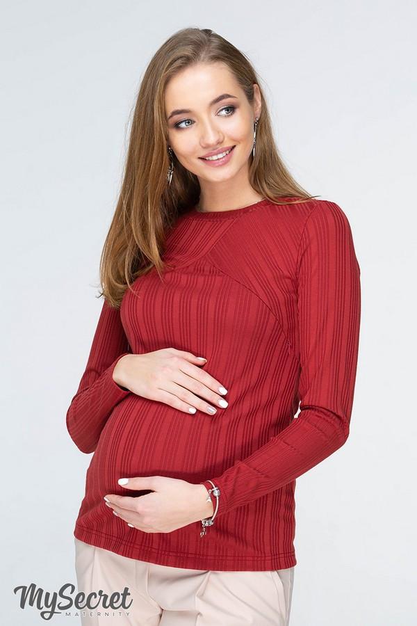 Лонгслив для беременных и кормящих Stefania NR-19.031