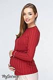 Лонгслив для беременных и кормящих Stefania NR-19.031, фото 2