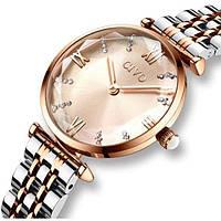 Женские часы Civo 7757 Золотистые