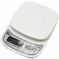 Весы кухонные QZ-158, 10кг (1г)