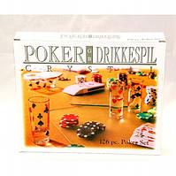 Покерный набор с рюмками, 120 фишек