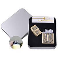 Электроимпульсная зажигалка в подарочной упаковке Space Shattle (USB) #XT-4886-2
