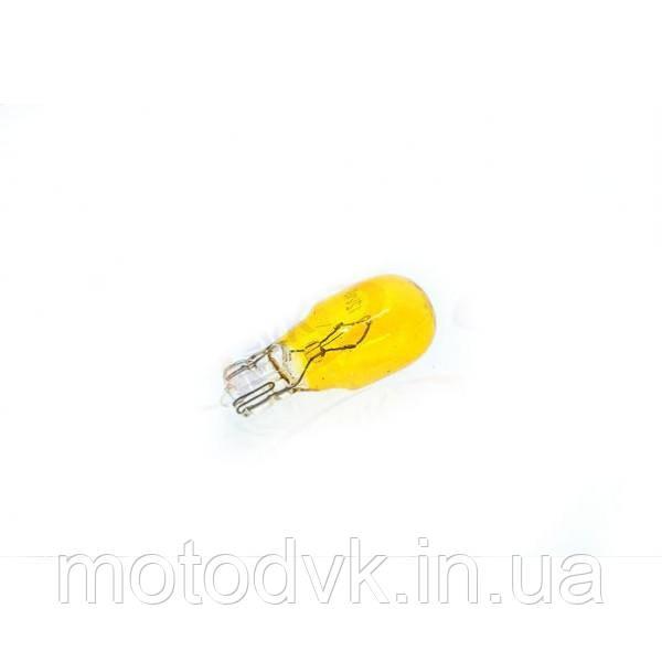 Лампа поворота 12v10w  T13   жёлтая