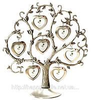 Фоторамка семейное дерево - Сердечки