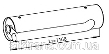 Глушитель выхлопных газов (средний) DAF CF65/LF45/LF55 1703631