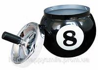 Подарок мужчине — Пепельница в виде шара-предсказателя Magic 8