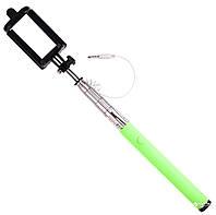 Монопод для селфи Drobak Selfie Stick Проводной Green