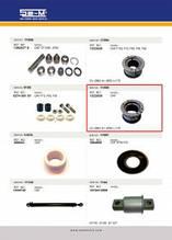 Втулка стабилизатора резиновая DAF CF65/XF95/XF105 1323839, SEM Турция