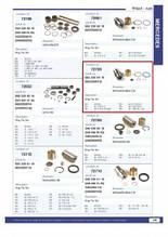 Шкворень (ремкоплект) MERCEDES Actros/Atego 6253300419, CONTECH