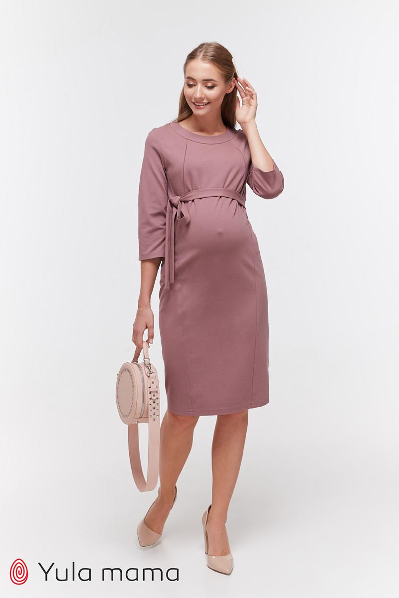 Платье-карандаш для беременных и кормящих Юла Мама. С секретом для кормелния. Модель - Isabelle DR-39.101 S