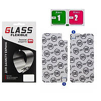 Защитное оргстекло для APPLE iPhone XR комплект 2 шт.(0.2мм) Flexible Glass
