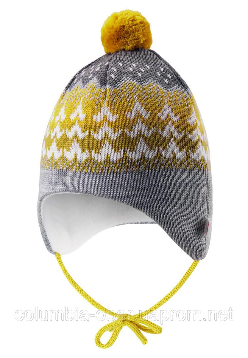 Зимняя шапка - бини для девочки Reima Tuittu 518545-2467. Размеры 36/38, 40/42 и  44/46.