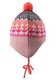 Зимняя шапка - бини для девочки Reima Tuittu 518545-3227. Размеры 36/38, 40/42 и  44/46., фото 3