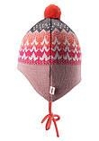 Зимняя шапка - бини для девочки Reima Tuittu 518545-3227. Размеры 36/38, 40/42 и  44/46., фото 4