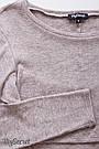 Джемпер для кормящих теплый трикотажный капучино меланж Юла Мама Dora (S-XL), фото 6