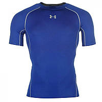 Термобелье Under Armour Heatgear Core T Shirt Royal - Оригинал