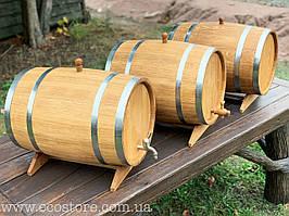 Дубовая бочка 50л для вина, коньяка, виски