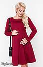 Платье для беременных и кормления Юла Мама теплое. Трикотаж с начесом. Модель - Lianna warm DR-48.161 S, фото 5