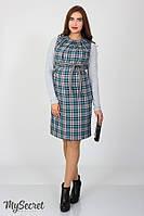 Сарафан для беременных прямой из костюмной ткани Юла Мама Devos SF-47.012 S