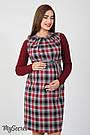 Сарафан для беременных прямой из костюмной ткани Юла Мама Devos SF-47.011 S, фото 2