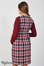 Сарафан для беременных прямой из костюмной ткани Юла Мама Devos SF-47.011 S, фото 4