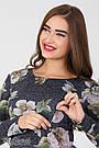 Платье для беременных и кормления с цветами Юла Мама повседневное/нарядное. Модель - Lianna DR-36.281 xL, фото 3