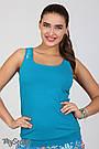Майка для беременных облегающая из хлопкового трикотажа Юла Мама Kala LS-26.021 S, фото 4