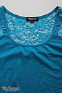 Майка для беременных облегающая из хлопкового трикотажа Юла Мама Kala LS-26.021 S, фото 5