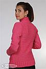 Свитер для беременных теплый полушерстяной зимний розовый Юла Мама Alisann (S,M), фото 4