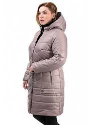 Женские модные зимние пальто с капюшоном